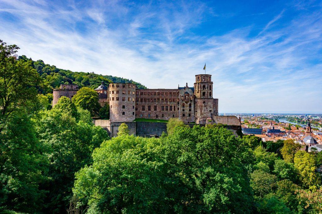 heidelberg, castle, heidelberg castle